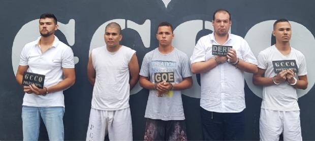 Operação prende 6 ladrões de banco que sequestraram família e roubaram R$ 372 mil