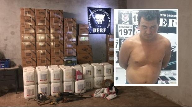 Suspeito de cometer 23 assassinatos é preso com carga roubada avaliada em R$ 150 mil