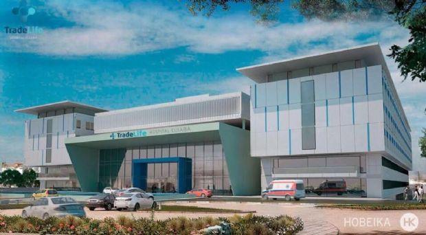 Novo hospital de Cuiabá terá 250 leitos, complexo de consultórios e mais em 170 mil m²