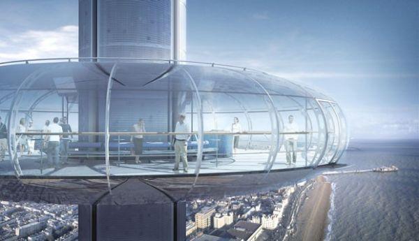 Projeto mostra como deve ficar a maior torre de observação móvel do mundo, batizada de i360