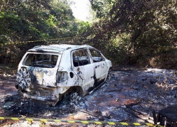 Idoso é encontrado carbonizado dentro de carro em Mato Grosso após denunciar ameaça