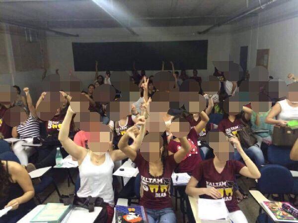 Alunos da Unic reclamam de superlotação em salas de aula e marcam protesto