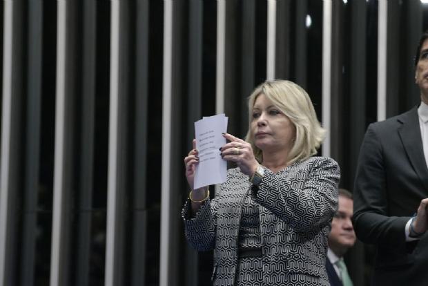 Selma Arruda defende voto aberto para eleições da Mesa Diretora do Congresso
