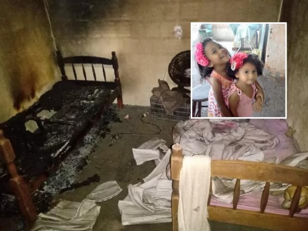 Mãe doa córneas de irmãs mortas intoxicadas por fumaça: