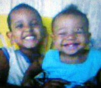 Irmãozinhos forma achados mortos na manhã de ontem