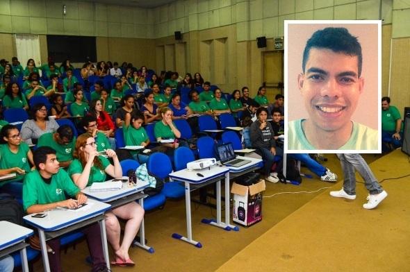 Estudante trabalha o dia todo e faz curso à noite para realizar sonho de ser médico