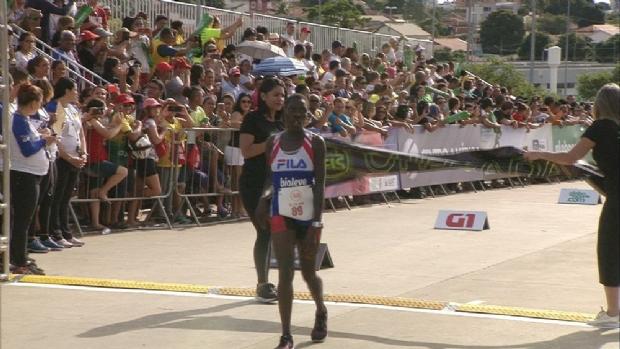 Janet Masai chegou em 1º lugar na Corrida de Reis