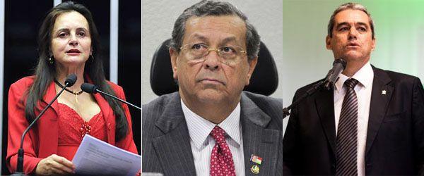 Chapa seria encabeçada por Jayme Campos, tendo Rui Prado vice e Serys Slhessarenko ao Senado