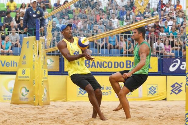 Cuiabá recebe etapa do nacional de vôlei de praia com presença de medalhistas olímpicos