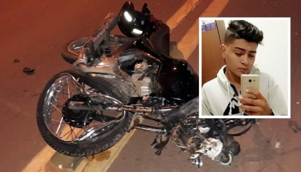Jovem de 20 anos morre após colidir motocicleta na traseira de carreta