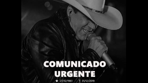 Cantor Juliano Cezar morre depois de sofrer infarto fulminante em palco;  veja vídeo
