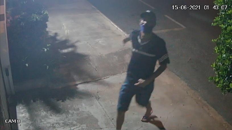 Ladrão que ataca condomínios do Araés é filmado em ação e moradores cobram segurança; veja vídeos