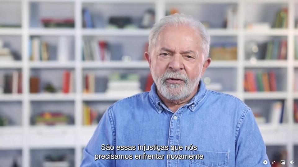 Em pronunciamento nas redes sociais, Lula cita 'fila dos ossinhos' em Cuiabá para criticar Governo Bolsonaro