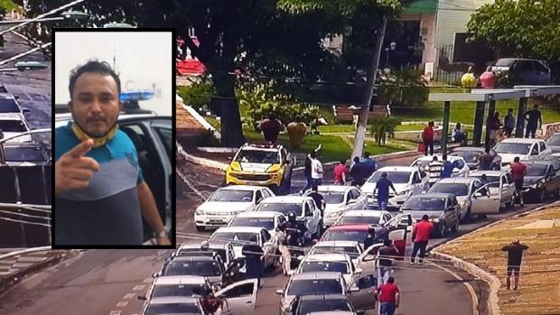 Motorista de aplicativo é detido por desacato a fiscal da Semob durante manifestação;  veja vídeos