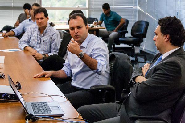 Vicinius de Carvalho e Marco Marrafon apresentaram projeto de PPP para Rede de Controle
