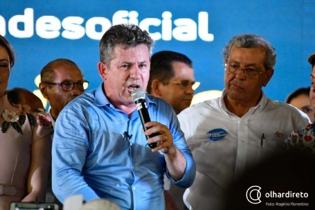 Mauro Mendes aciona MP e recorre à Justiça contra uso da máquina e fake news