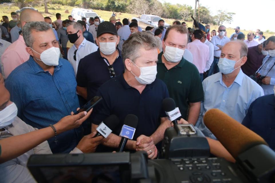 Mendes promete construir ponte de quase 1km no Araguaia se governador do Tocantins assumir rodovia