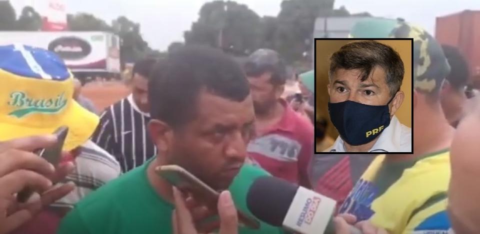 Medeiros liga para caminhoneiros e pede liberação de BRs: 'acaba prejudicando quem quer ajudar'