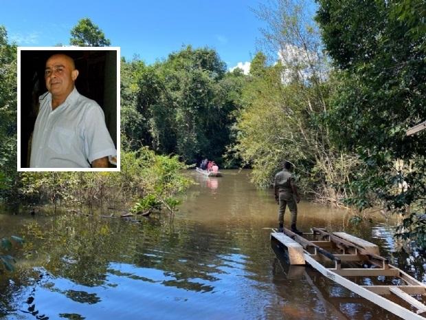 Médico, irmão de ex-deputado é encontrado morto em rio