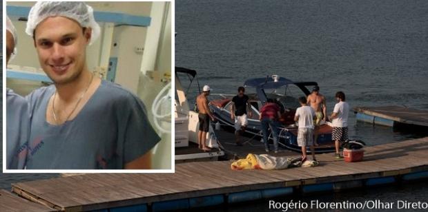 Médico morto no Manso foi atropelado por lancha conduzida por amigo