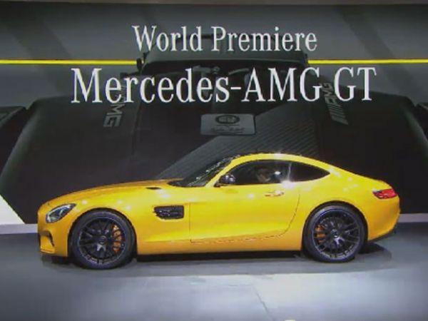 Mercedes-AMG GT é o novo superesportivo alemão