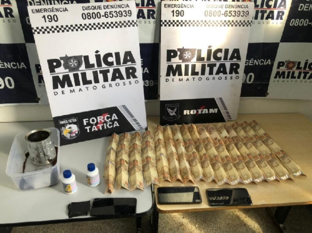 Rotam prende três por compra e venda de notas falsas em Cuiabá