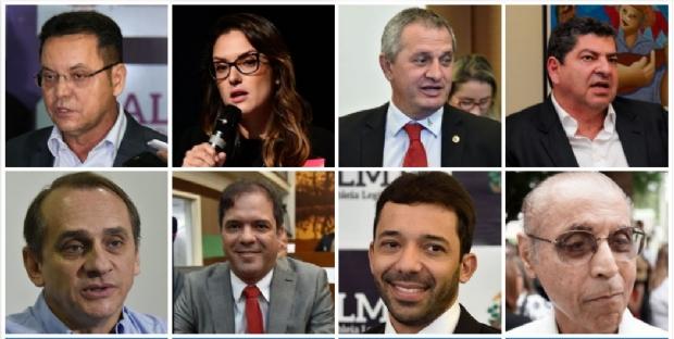 Botelho lidera pesquisa de intenção de votos; veja lista de estaduais que se elegeriam