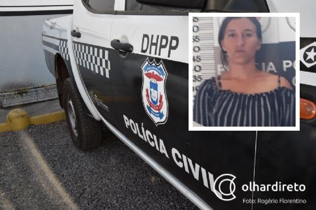 Jovem de 23 anos é presa por suspeita de matar e jogar corpo do marido em rio