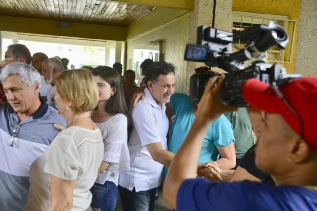 Após votação, Nilson Leitão  diz estar confiante na vitória