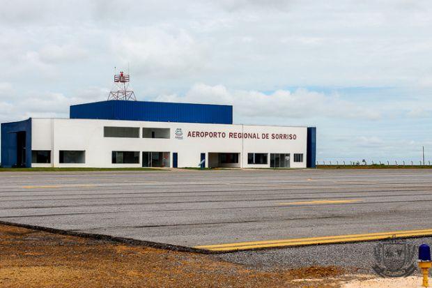 Aeroporto de Sorriso recebeu investimentos e começou a operar com voos regulares