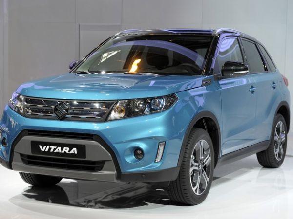 Suzuki Vitara ganha nova geração no Salão de Paris