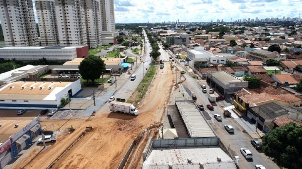 Semob inicia recapeamento na Beira Rio a partir de segunda e vias serão interditadas parcialmente