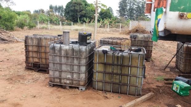 Empresas suspeitas de crime ambiental e venda de combustível 'batizado' são alvos de ação integrada