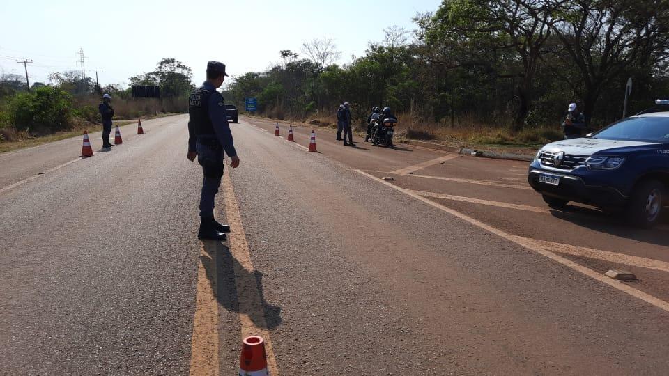 Feriado termina sem mortes em rodovias estaduais da grande Cuiabá; 408 multados sem cinto de segurança