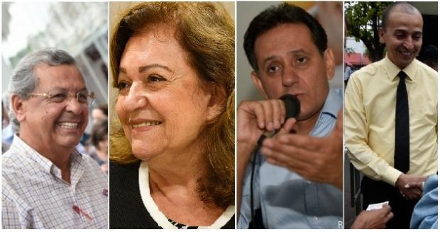 Jayme e Procurador Mauro lideram pesquisa e Maria Lúcia surpreende ao empatar com Leitão