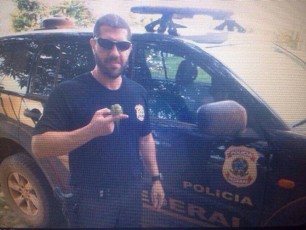 Policial federal Mario Henrique de Almeida foi morto no município de Sinop