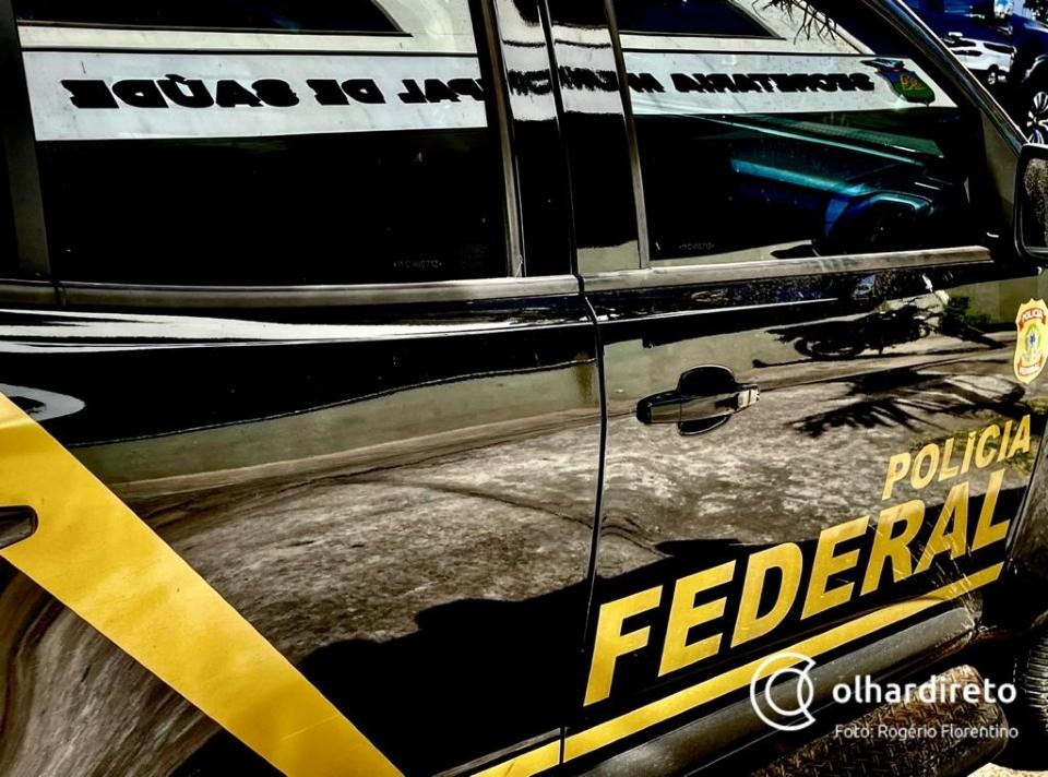 Policial penal é preso pela PF durante operação contra tráfico internacional de drogas em MT e outros estados