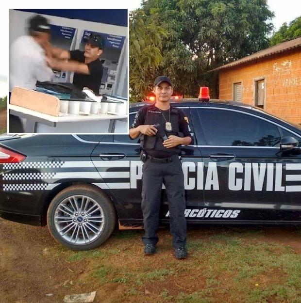 Família de idoso agredido chama policial civil de