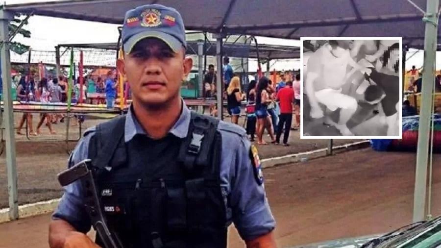 Suspeito de matar policial espancado já foi preso por roubo com reféns
