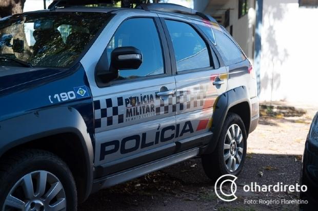 PM efetua disparos contra carro e consegue prender bandido minutos após assaltar professora