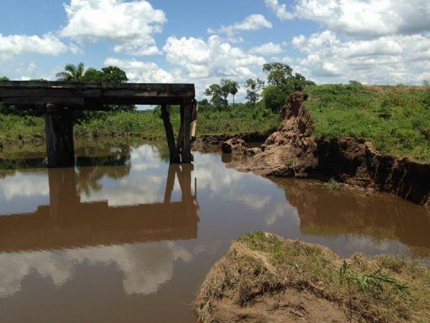 Defesa Civil reconhece situação de emergência após tempestades derrubarem pontes