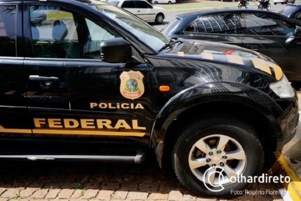 Empresário e dois pilotos são presos pela PF; sete estão foragidos de ação contra o tráfico