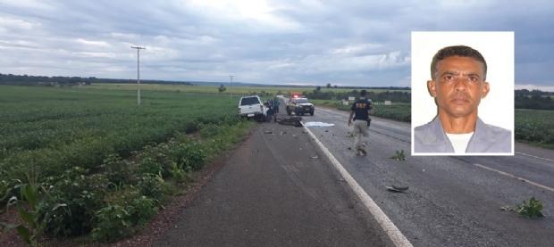 Policial Militar morre após bater motocicleta de frente com Hilux