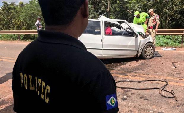 Mulher morta em acidente na BR-070 retornava para casa após tratamento contra o câncer