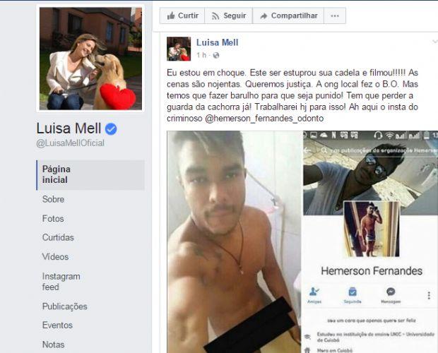 Celebridades se revoltam com postagens de estupro de cadela e pedem prisão de 'monstro'