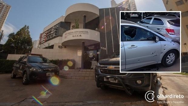 Delegado diz que existem indícios do paradeiro de suspeitos de tentativa de roubo a carro-forte