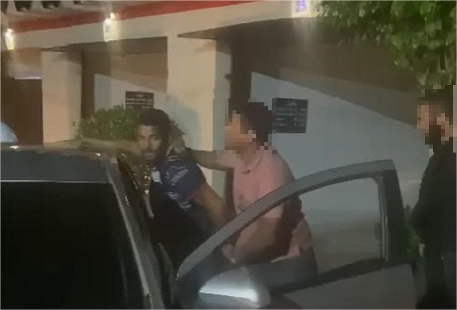 Vídeo mostra prisão em motel de líder do CV que participou da execução de acusado de estupro no 'Tribunal do Crime'