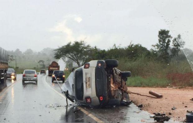 Fim de semana deixa saldo de 14 mortos em estradas; quatro vítimas são crianças