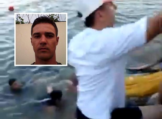 Empresário morre após cair de paramotor dentro de lago;  vídeos mostram tentativa de resgate