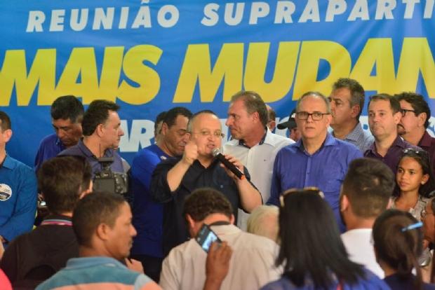 Taques cita em encontro suprapartidário que 'ajuste nas contas' evitou colapso do Estado